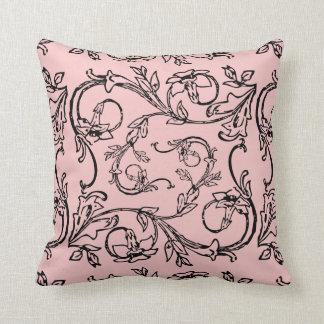 Rose Quartz  Throw pillow Cushion