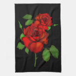 Rose Red 2 Kitchen Towel