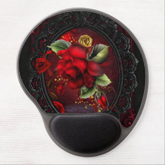 Rose Red Gel Mouse Pad