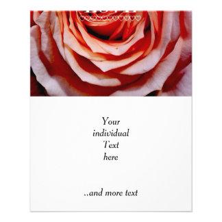 Rose red, Love (I) 11.5 Cm X 14 Cm Flyer