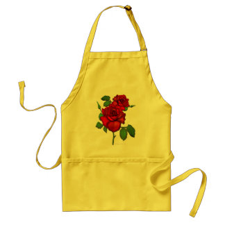 Rose Red Standard Apron