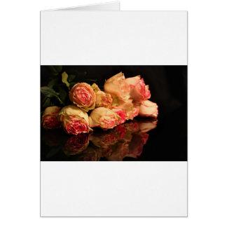 Rose reflection card