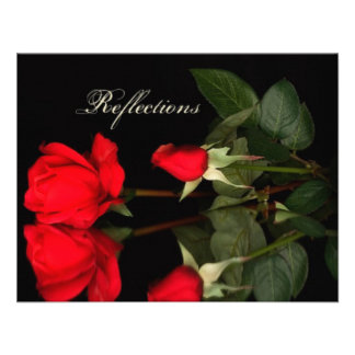Rose, reflections invite