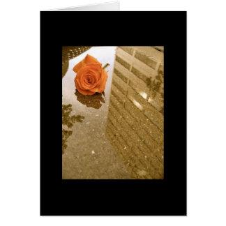 Rose Reflections Notecard Greeting Card