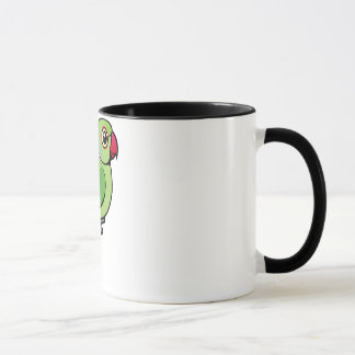 Rose-ringed Parakeet Mug