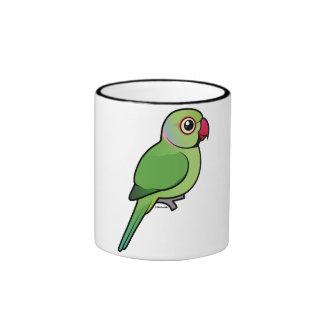 Rose-ringed Parakeet Ringer Mug