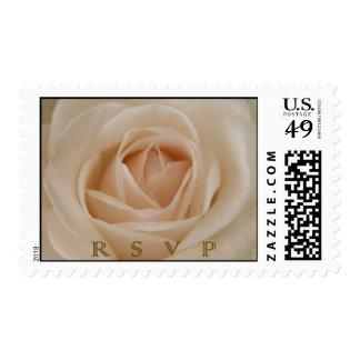 Rose RSVP postage