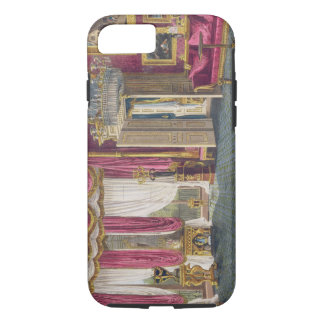 Rose Satin Drawing Room (second view) Carlton Hous iPhone 8/7 Case