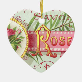 Rose Savon Ornament