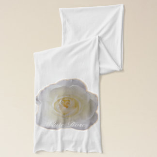 Rose Scarf Personalized White Rose Scarves Gifts
