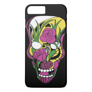 Rose Skull iPhone 7 Plus Case