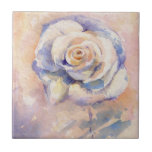 Rose Small Square Tile