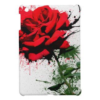Rose Splatter iPad Mini Cases