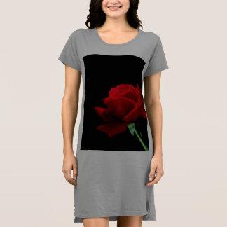 Rose t-shirt dress