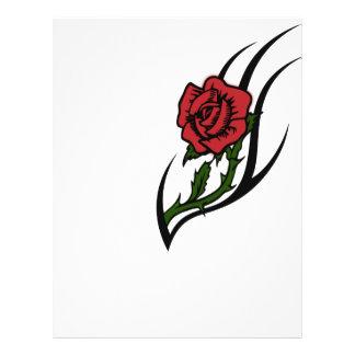 Rose tattoo 21.5 cm x 28 cm flyer