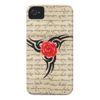 Rose Tattoo iPhone 4 Case