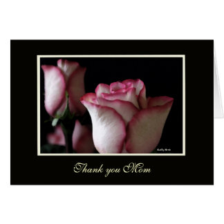 Rose Thank You Mom Cards