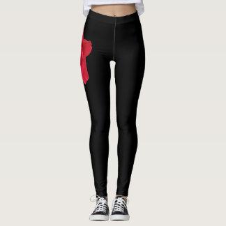 Rose Thigh Leggings