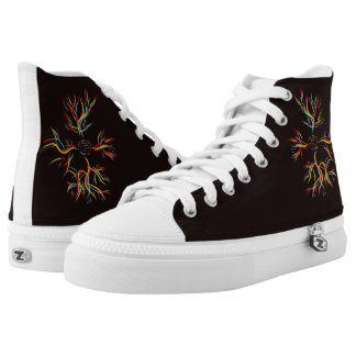 Rose thorns high tops