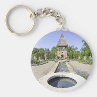 Rose Tower Madison Wisconsin Key Ring