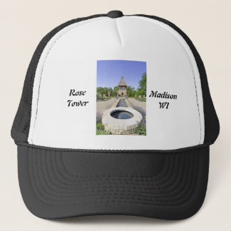 Rose Tower Madison Wisconsin Trucker Hat