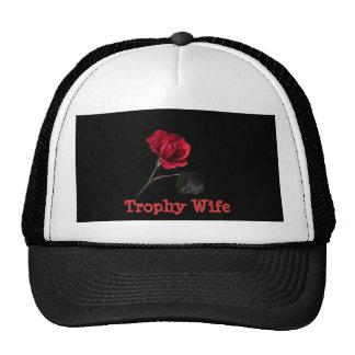 Rose Trophy Wife Hat