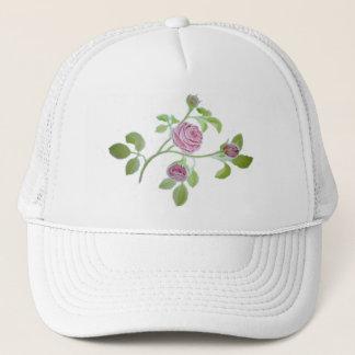Rose Vine Motif on multiple Trucker Hat