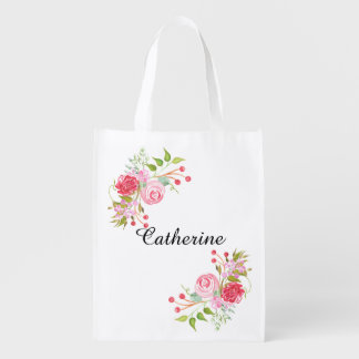 Rose watercolor floral mix | Personalize