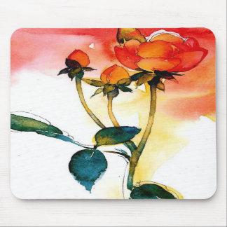 Rose Watercolor Mousepad