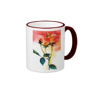 Rose Watercolor Mug