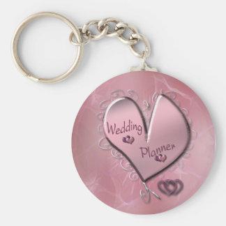 Rose Wedding Planner Keychain