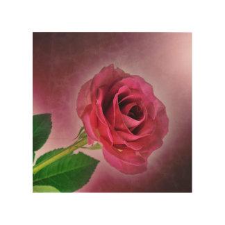 Rose Wedding Shower Tropical Peace Love Destiny Wood Prints