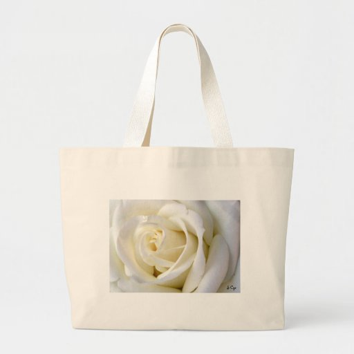Rose White Bags
