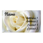 Rose White, Profile Card Business Card