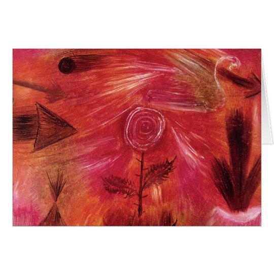 Rose Wind Card