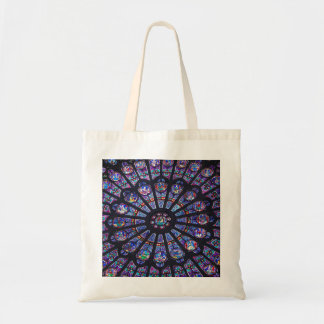 Rose Window Paris Tote Bag