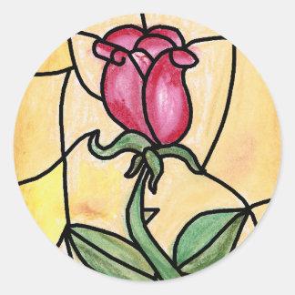 Rose Window Sticker