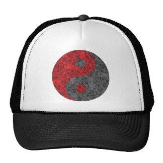 Rose Yin Yang Mesh Hats