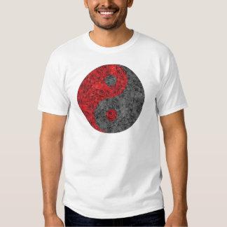 Rose Yin Yang Tee Shirts