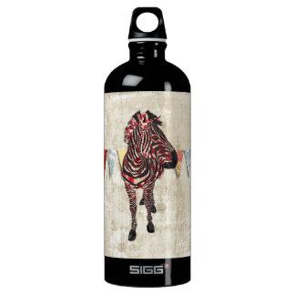 Rose Zebra  Liberty Bottle SIGG Traveller 1.0L Water Bottle
