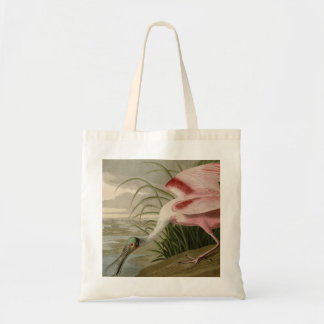 Roseate Spoonbill Canvas Bag