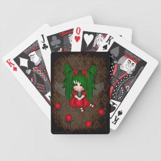 Rosebud Fairy playing cards