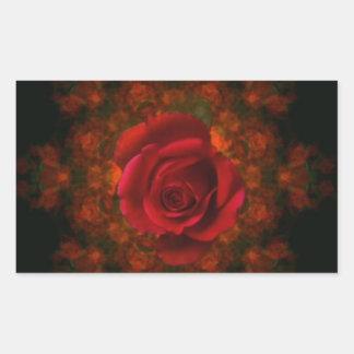 Rosebud Stickers