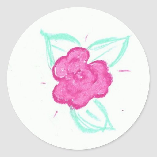 Rosebud Sticker
