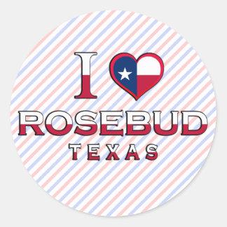 Rosebud Texas Sticker