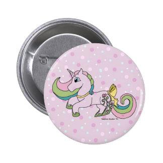 Rosebud The Unicorn Button