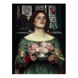 Rosebuds by John William Waterhouse Postcard
