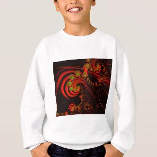 Rosebuds Fractal Design Sweatshirt