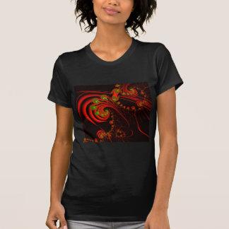 Rosebuds Fractal Design T-shirt