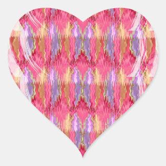 RoseBuds n Petals Decoration Art Heart Sticker